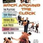 "Actual Alan Freed ""Rock Around The Clock"" Billboard Poster; circa 1956"