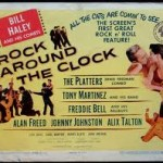 "Alan Freed's ""Rock Around The Clock"" Movie Poster; circa 1956"