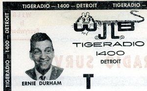 WJLB Detroit Tigeradio 1400  Ernie Durham