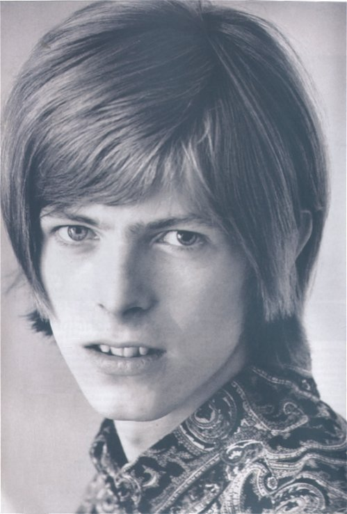 A young David Bowie circa 1967. Declined by Apple Records ...