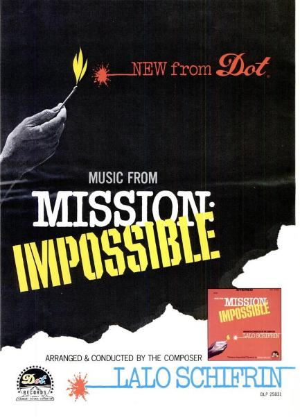 Lalo Schifrin - Mission: Impossible / Jim On The Move