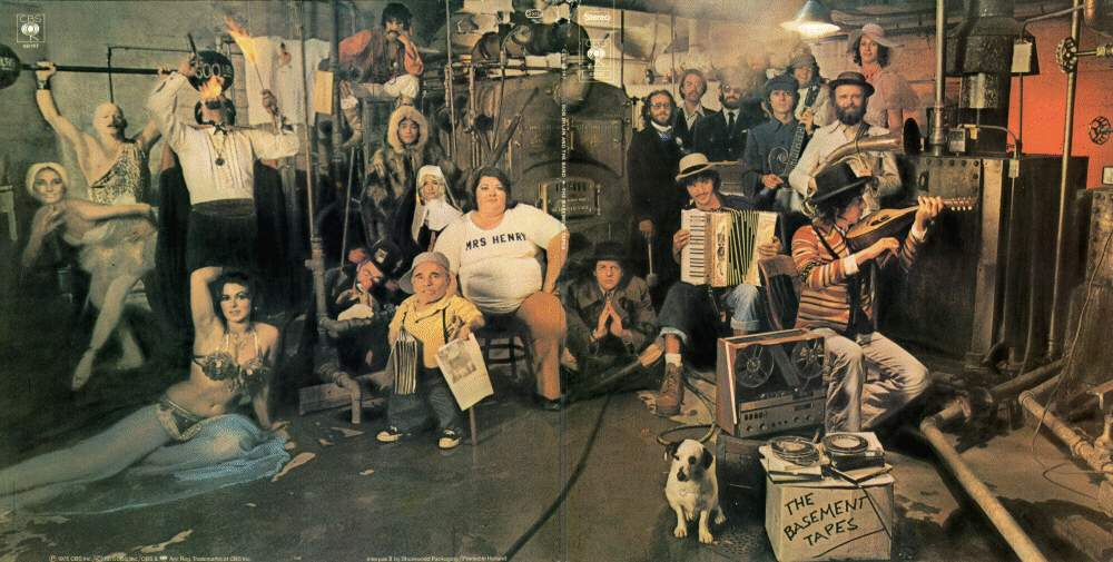 Bob Dylan And The Band The Basement Tapes Cover