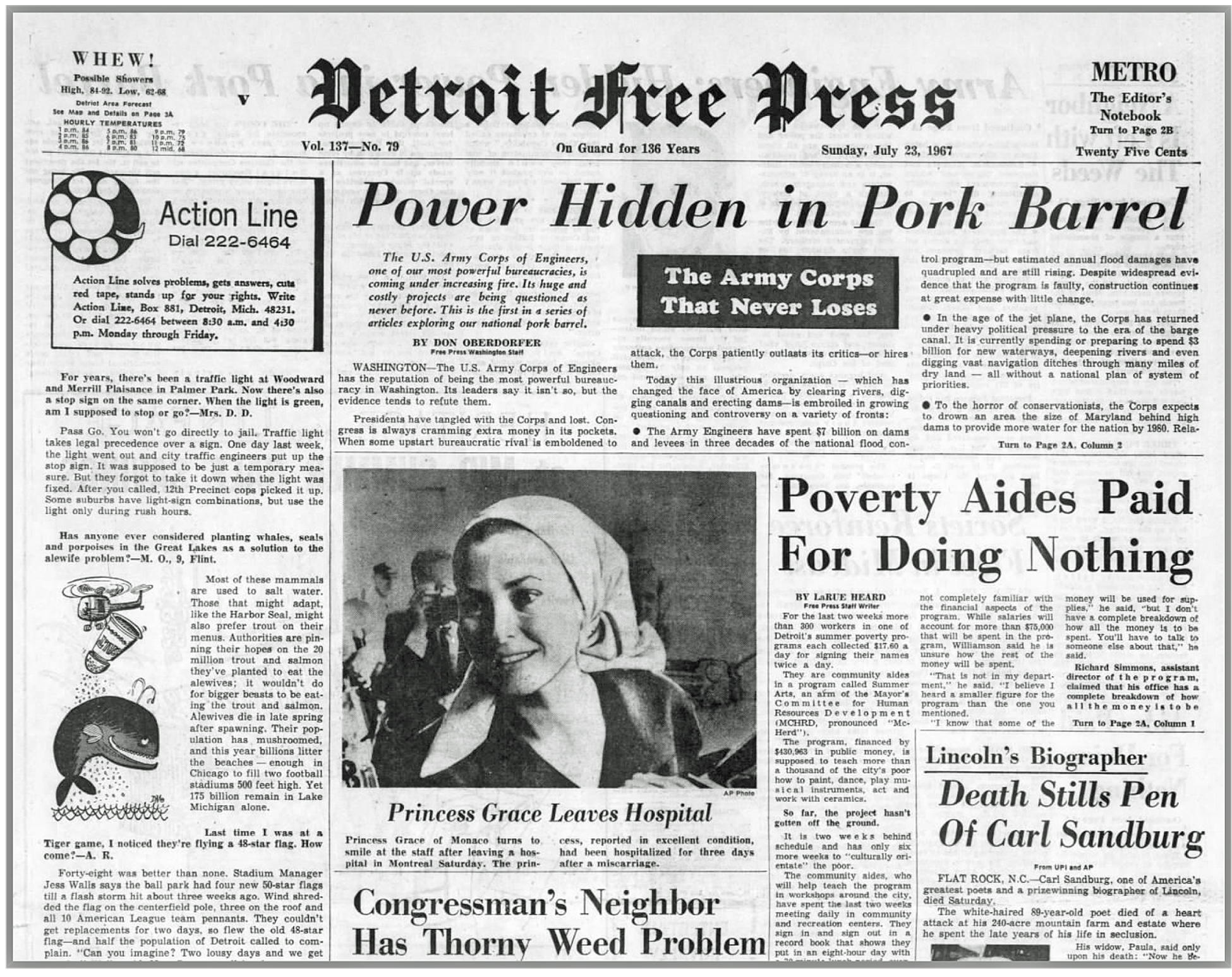 A wknr contact news presentation detroit 1967 for Ford motor company news headlines