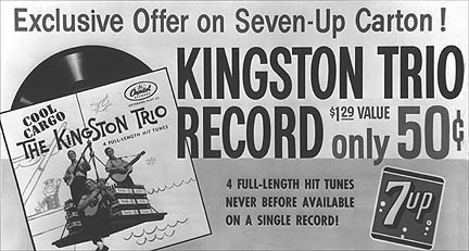 KINGSTON TRIO FOR 7-UP – Motor City Radio Flashbacks