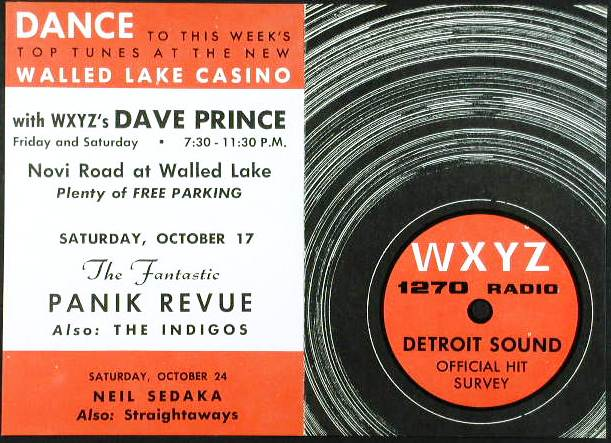 WXYZ-AM Spotlight Sound Survey for October 16, 1964.