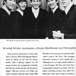 Trini Lopez performed with the Beatles while in Paris, France, 1964 (Click image for larger view)