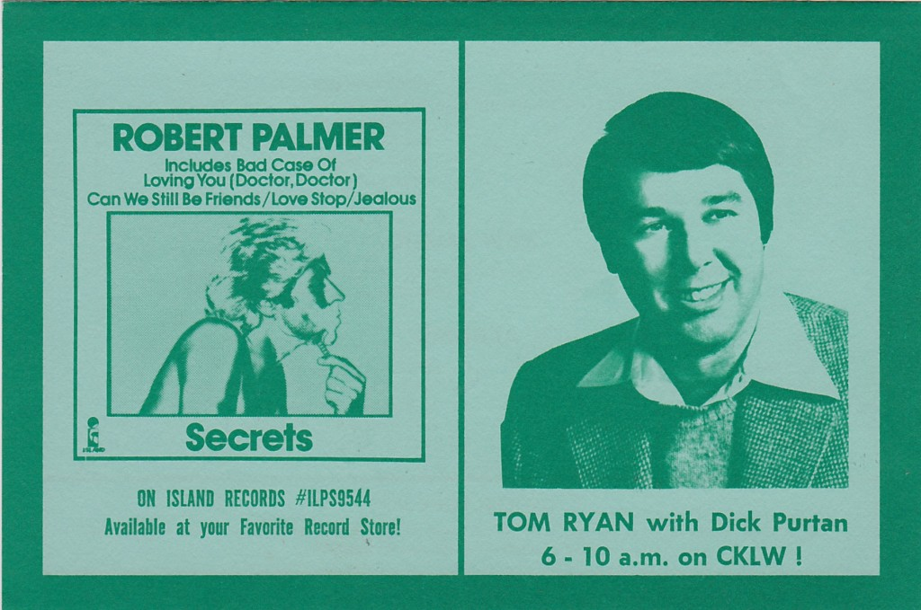CKLW MUSIC GUIDE BACK - JULY 31, 1979