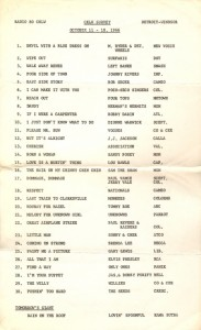 CKLW-AM radio survey, Windsor, October 1966 (click on image for larger view)