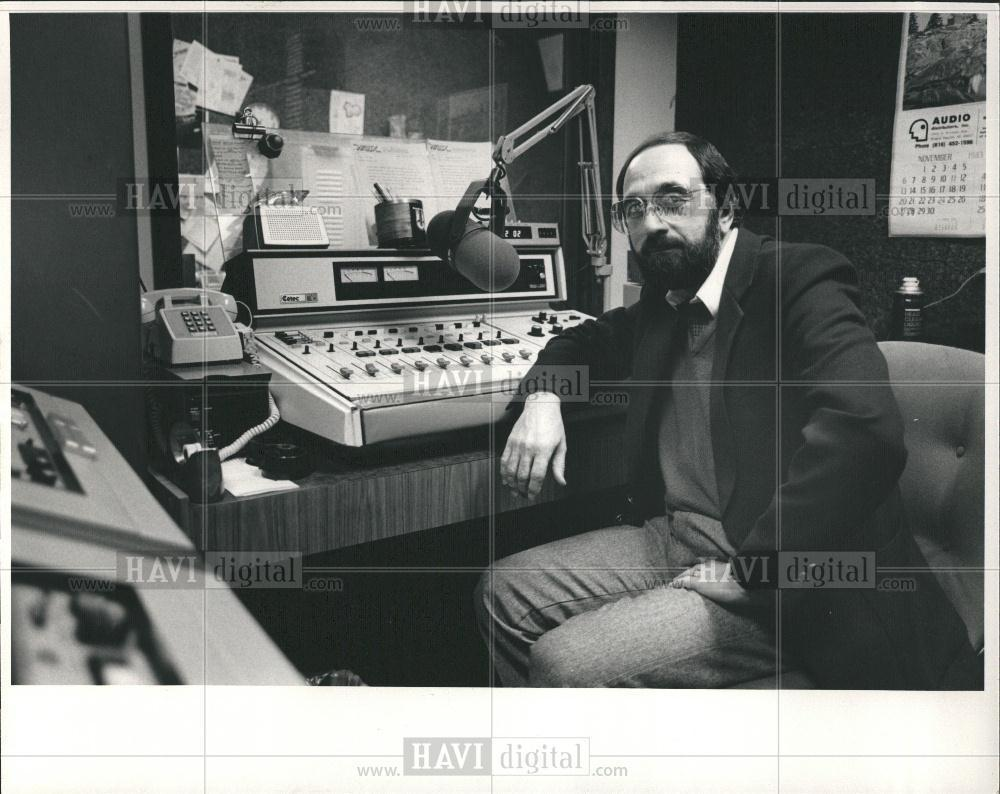 A WABX-FM FLASHBACK: Paul Christy, program director WABX-FM, 1975