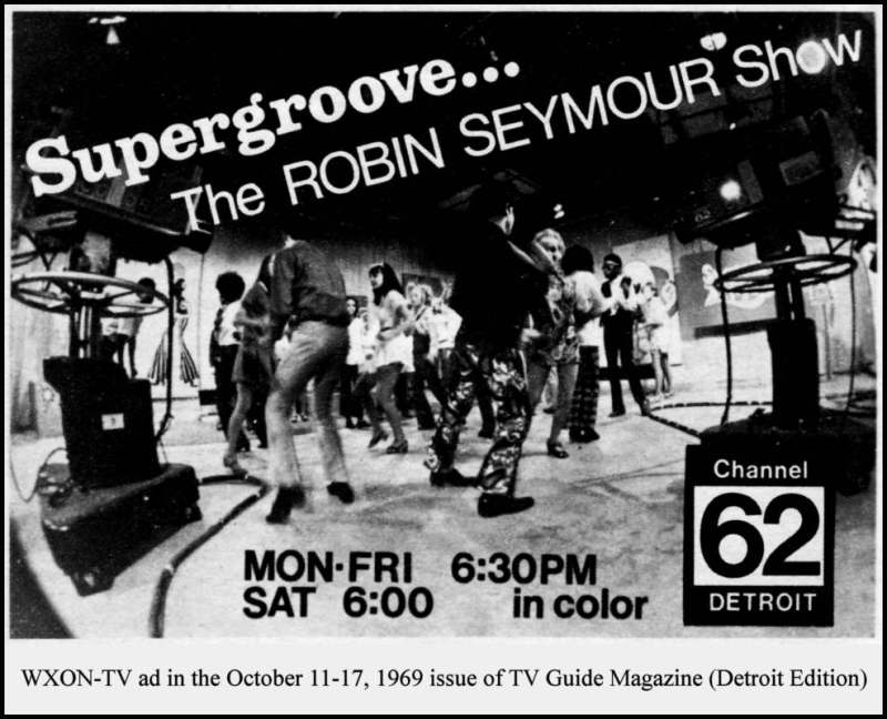 Robin Seymour Channel 62 October 13, 1969