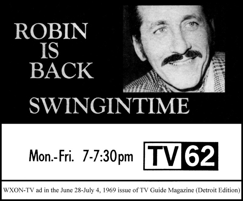 Robin Seymour 'Swingin' Time' TV-62 1969