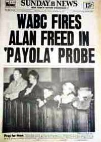 WABC Alan Freed Fired