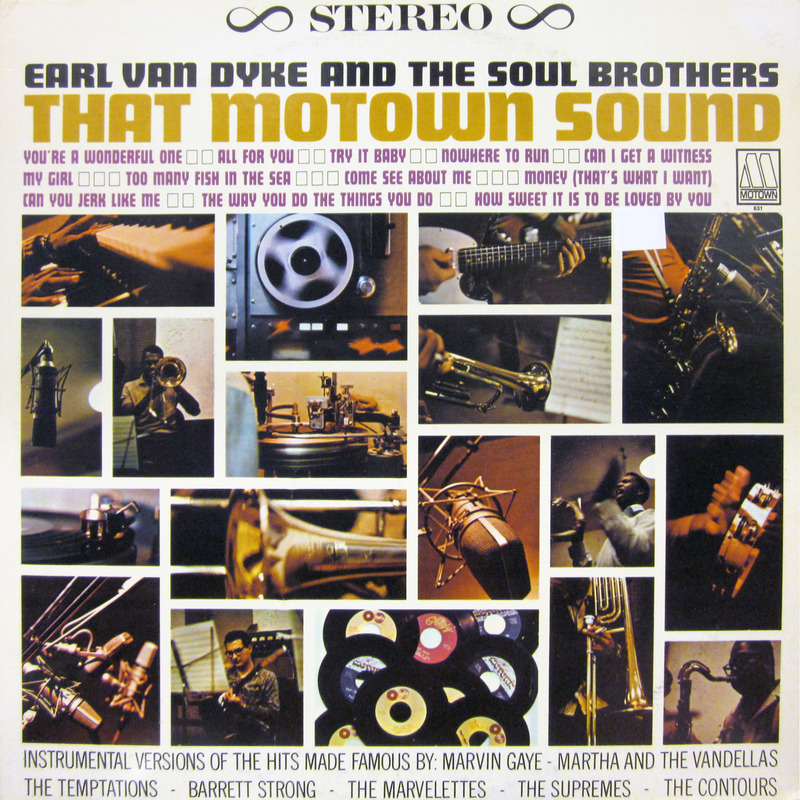 MOTOWN That Motown Sound Earl Van Dyke LP