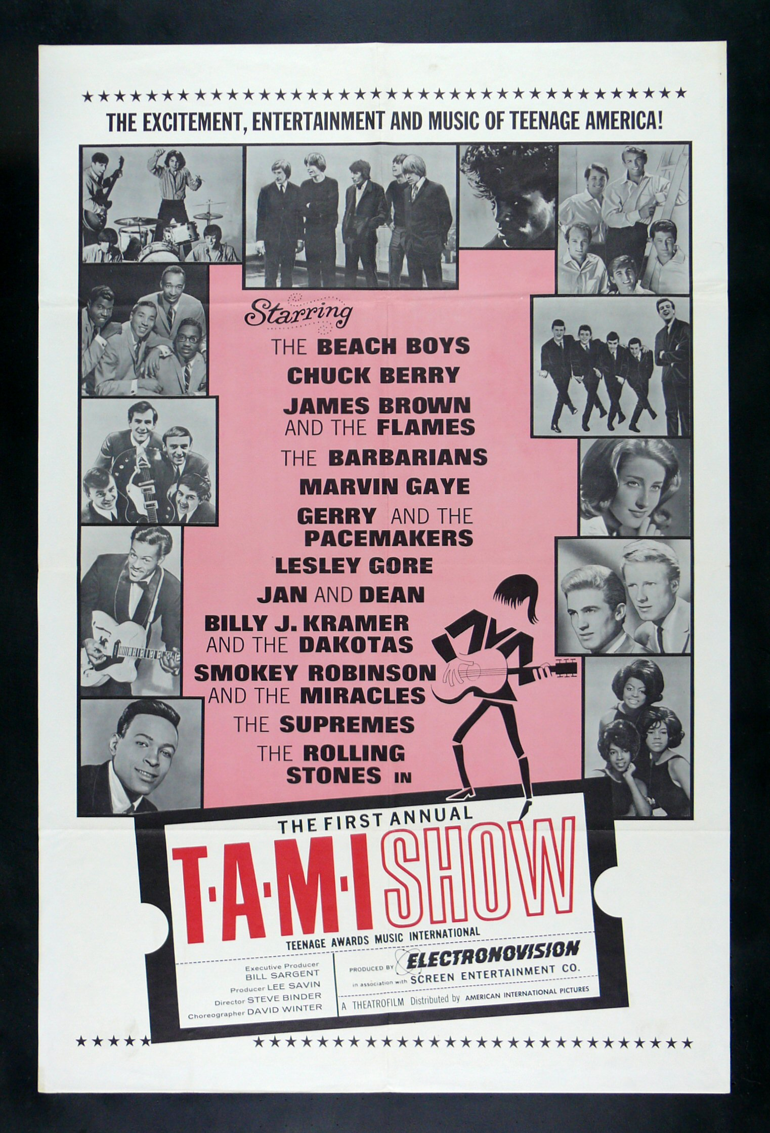 T.A.M.I  '64 POSTER
