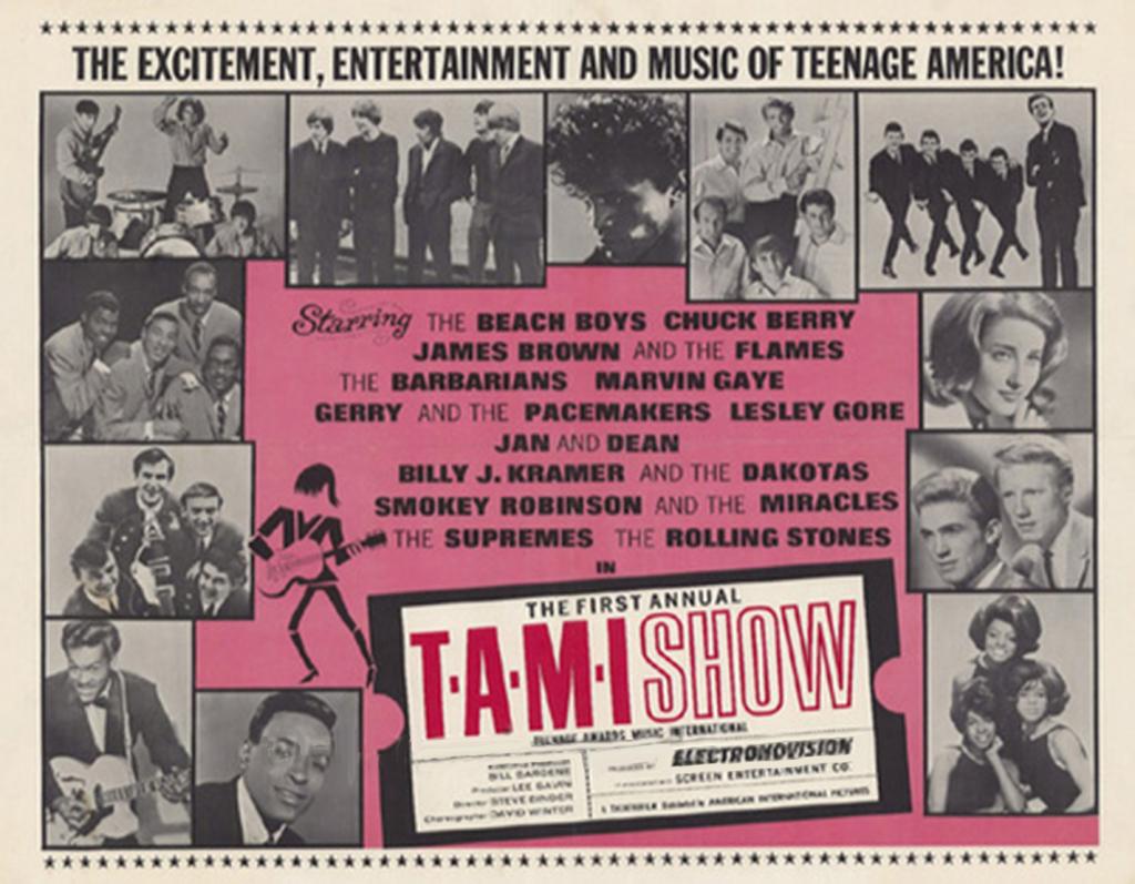 T.A.M.I Show Billboard