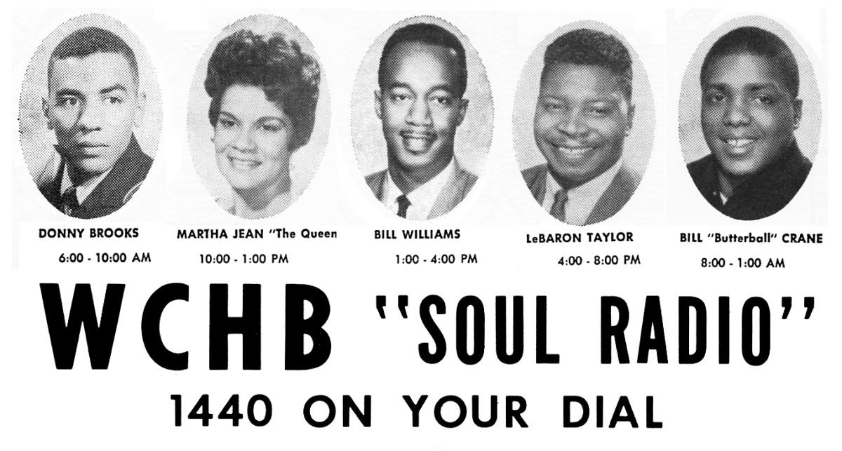 WCHB 1440 1966