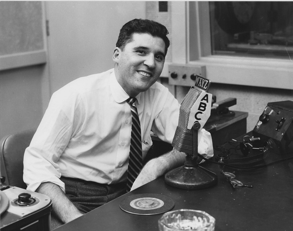 """Paul Winter was host to WXYZ's """"Curtain Calls"""" radio show in 1956."""