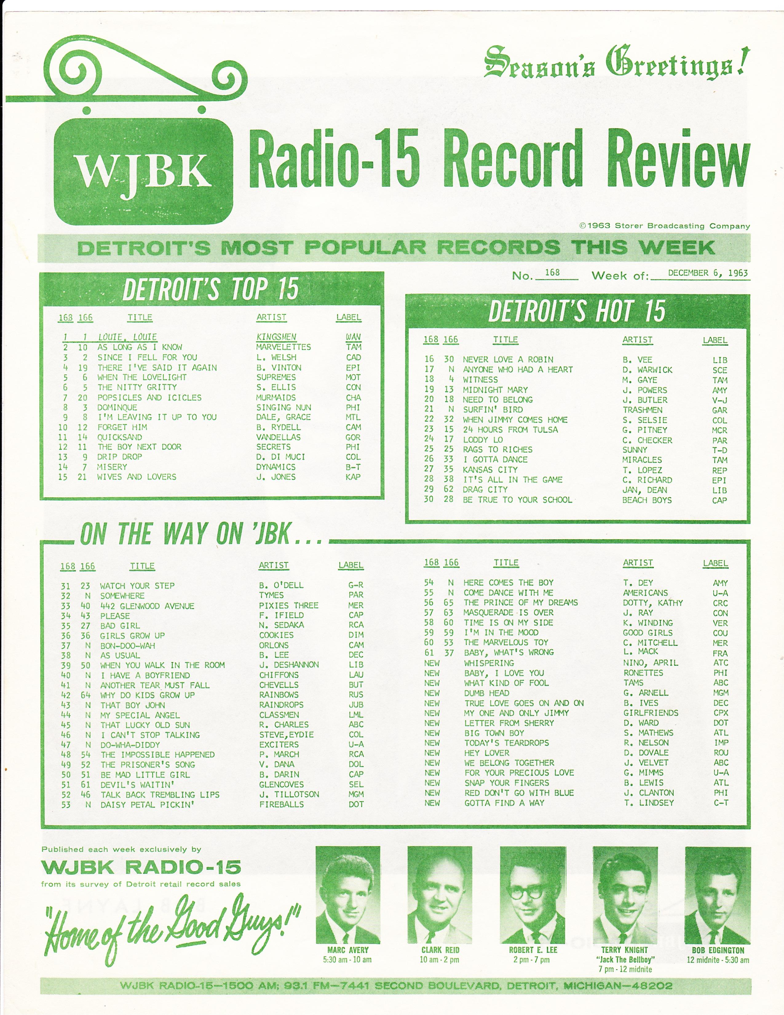 WJBK-SURVEY-DECEMBER-6-1963-FRONT