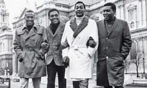 The Four Tops, London. St. Paul's Cathedral, 1966