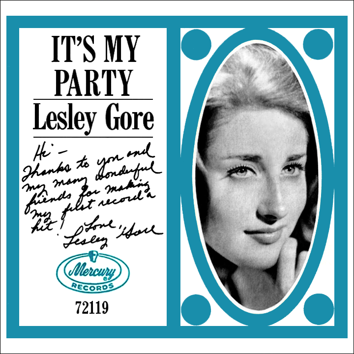 Lesley Gore It's My Party Record Sleeve (Mercury)