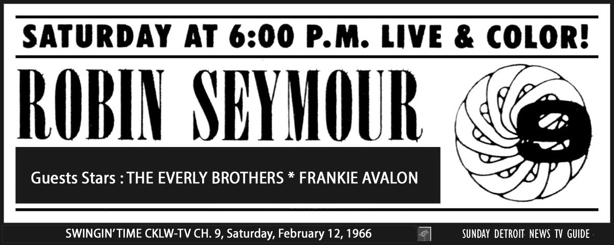Robin Seymour February 12, 1966 SDN 2 ('Swingin' Time')