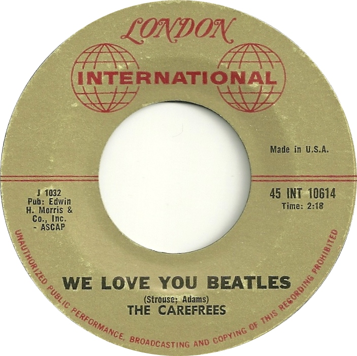 the-carefrees-we-love-you-beatles-london-international