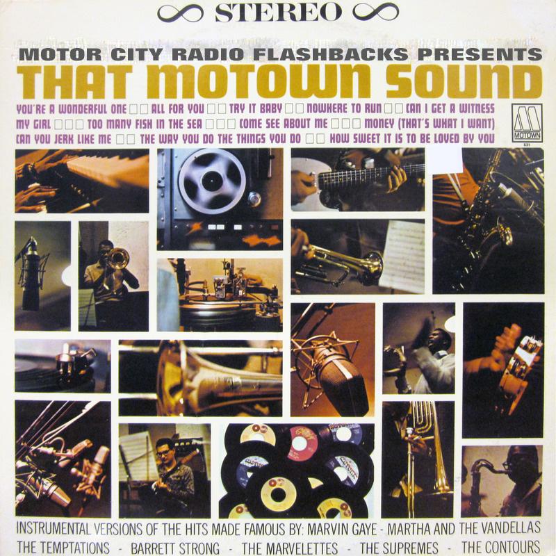 MOTOWN That Motown Sound MCRFB LP
