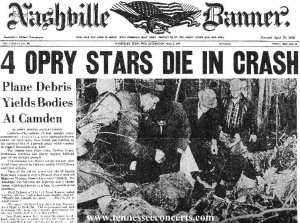 THE NASHVILLE BANNER Wednesday, March 6, 1963 (click on image for larger size).