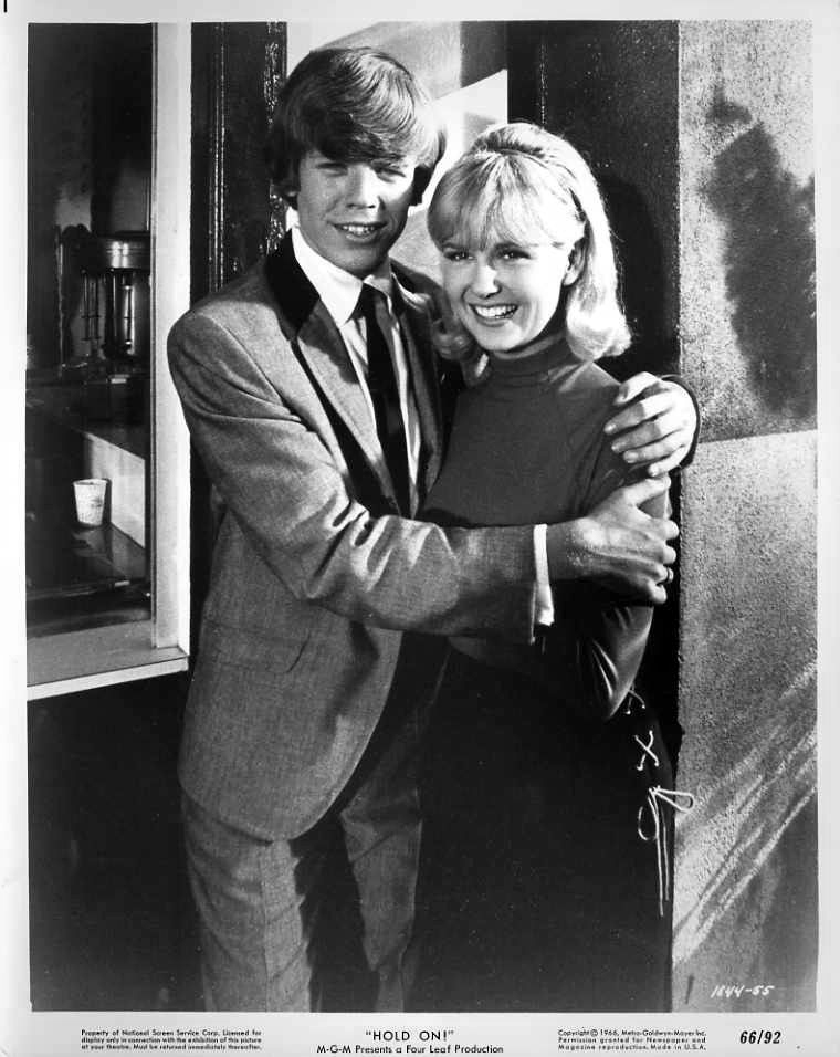 Peter Noone and Shelley Fabares 1965