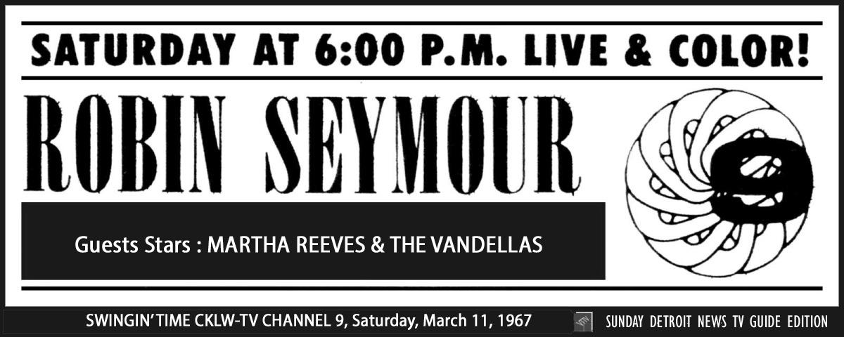 Robin Seymour March 11, 1967 ('Swingin' Time')