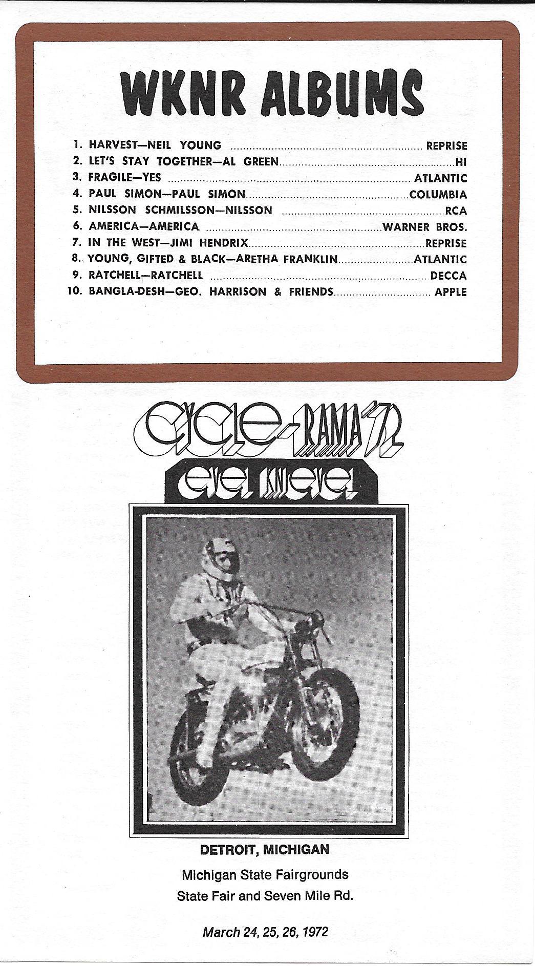 WKNR - March 13, 1972 - Back