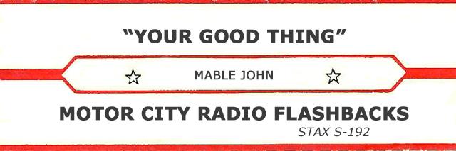 Jukebox Tag (MCRFB Mable John)