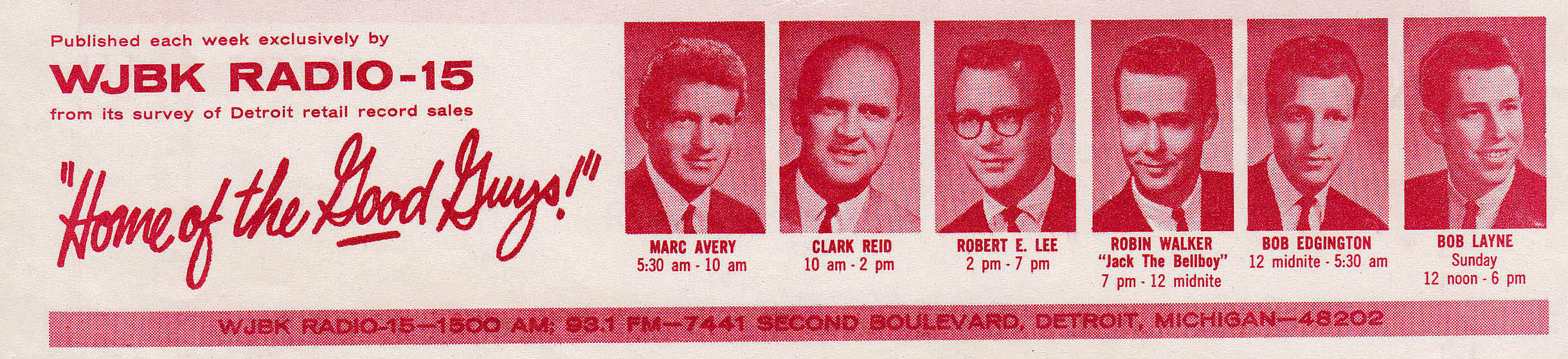 WJBK-SURVEY-JUNE-26-1964-FRONT (MCRFB Bottom Tag)