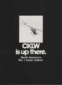 A CKLW station ad, 1970 (Click on image 2x for largest view).