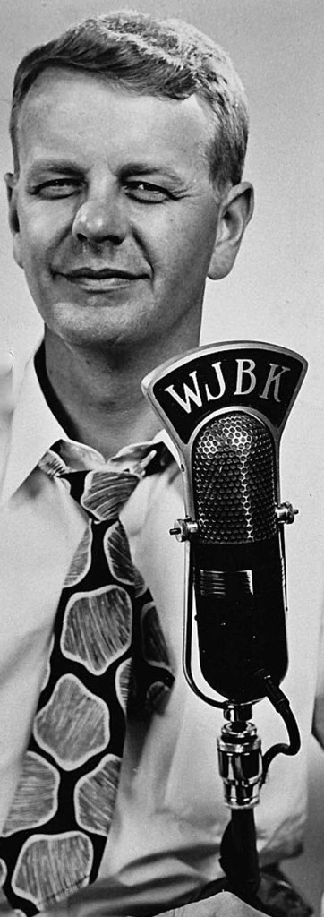"""Ed McKenzie, formerly """"Jack The Bellboy"""" on WJBK, Detroit, early-1950s."""