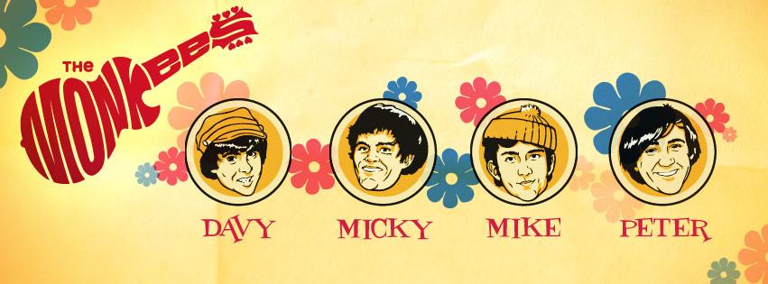 Monkees 1966 Banner
