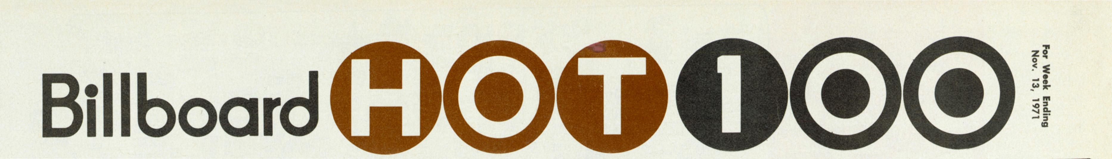 BILLBOARD Hot 100 November 13, 1971 (MCRFB header cropped)