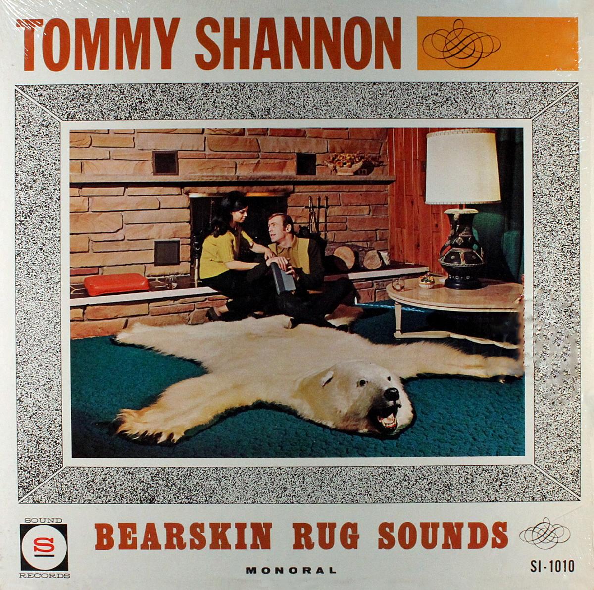 Tom Shannon Bearskin Rug ('65) LP Cover (MCRFB)