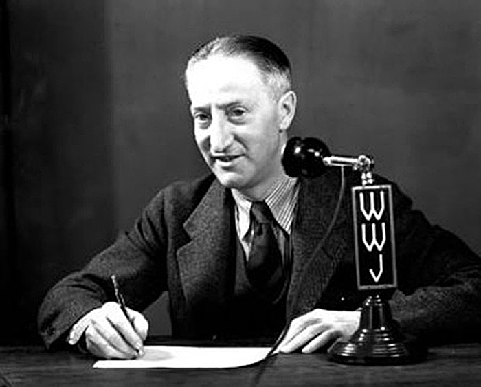 Ty Tyson, WWJ, pictured during wartime.