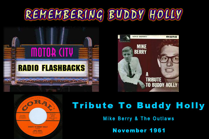 Mike Berry 'Tribute to Buddy Holly' 1961